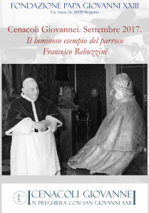 "Cenacoli Giovannei. ""Francesco Rebuzzini"""