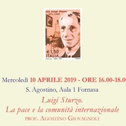 Luigi Sturzo. La pace e la comunità internazionale