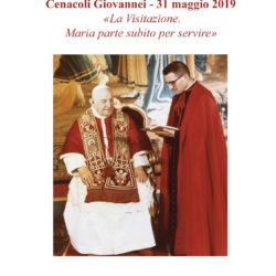 Cenacoli Giovannei. Giugno 2019: «Maria parte subito per servire»