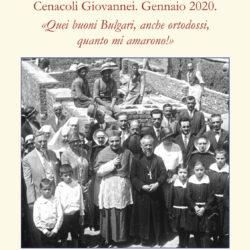 """Cenacoli Giovannei. Gennaio 2020 """"Quei buoni Bulgari, quanto mi amarono"""""""